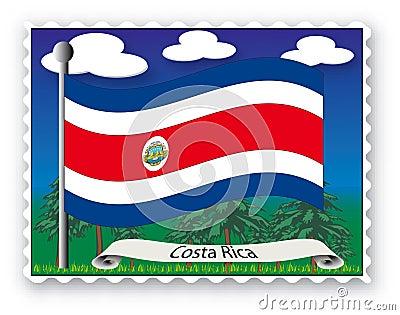 Stamp Costa Rica