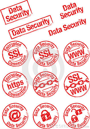Stamp data security