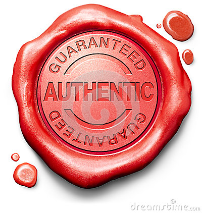 Free Stamp Guaranteed Authentic Quality Product Royalty Free Stock Images - 40921289