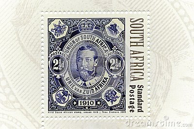 Stamp, South Africa