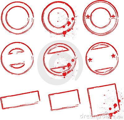 Rubber Stamp Design Template