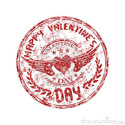 Stamp for Valentine s Day