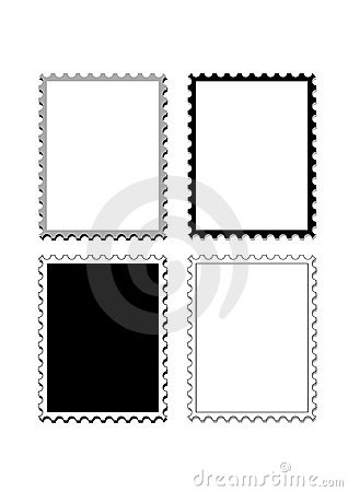 Stamps frame edge or boarder