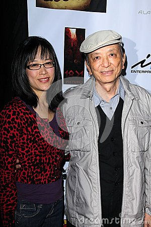 Stan Lee,James Hong Editorial Stock Image