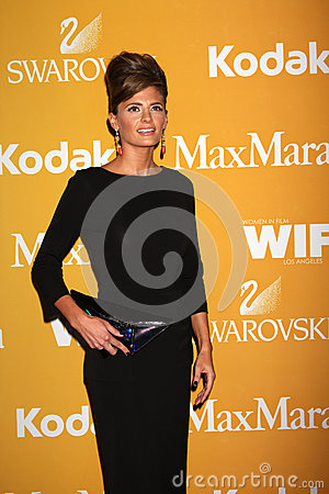 Stana Katic arrives at the City of Hope s Music And Entertainment Industry Group Honors Bob Pittman Event Editorial Image