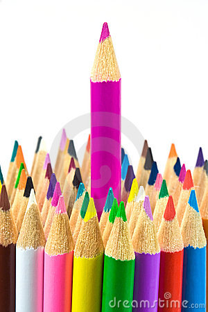 Free Stand Out From Crowd Stock Photography - 3209412