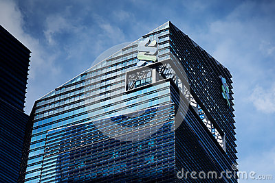 Standard Chartered Bank building Editorial Stock Photo