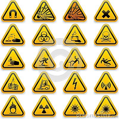 Standard hazard symbols