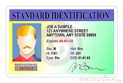 Standard Identification card
