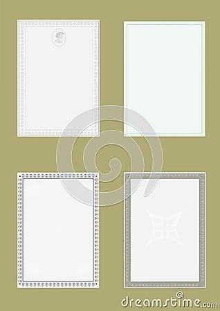 Standard sheet