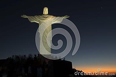 Standbeeld van Christus