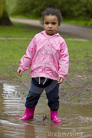 Standing In a Muddy Puddle