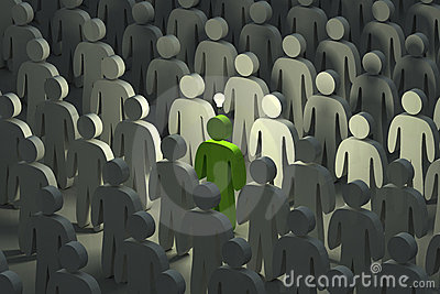 Standing out from the crowd with an idea
