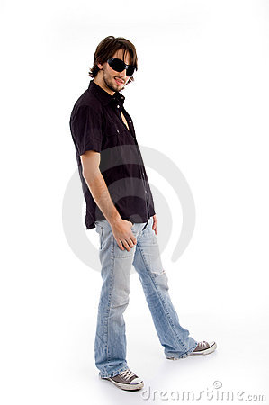 Free Standing Pose Of Stylish Male Stock Images - 7419784