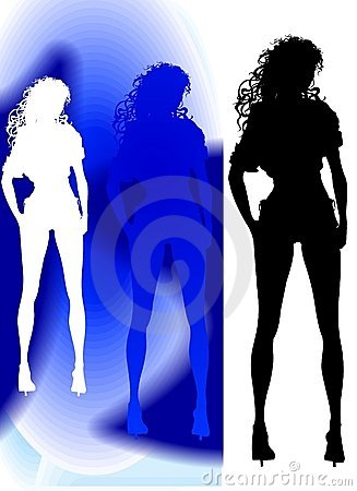 Standing Silhouette
