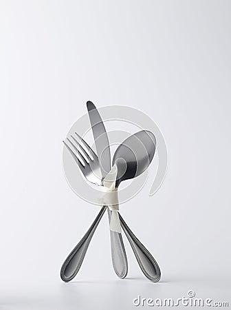 Standing silverware