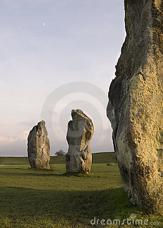 Free Standing Stones Royalty Free Stock Images - 11047479