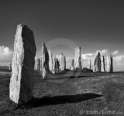 Free Standing Stones Royalty Free Stock Images - 14787079