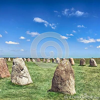 Free Standing Stones Stock Photo - 33528930