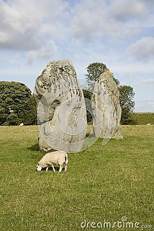 Standing stones, Avebury Ring