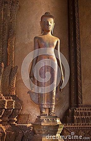 Standing Vintage Buddha Image