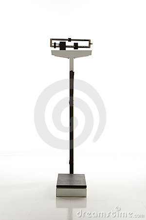 Free Standing Weight Scale. Stock Photography - 2042512
