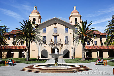 Stanford University Editorial Stock Image