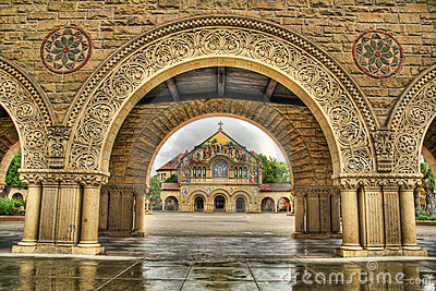 Stanford University Memorial Church HDR