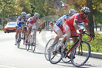 Stanislav Hejduk - cycling race Bohemia race 2012 Editorial Image