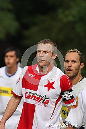 Stanislav Vlcek - Slavia Editorial Photo