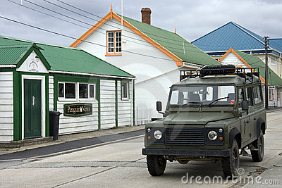 Stanley - Falkland Islands Editorial Photography