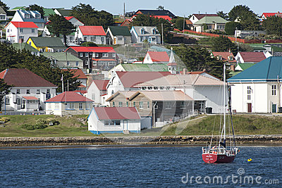 Stanley, Falkland Islands Editorial Stock Photo