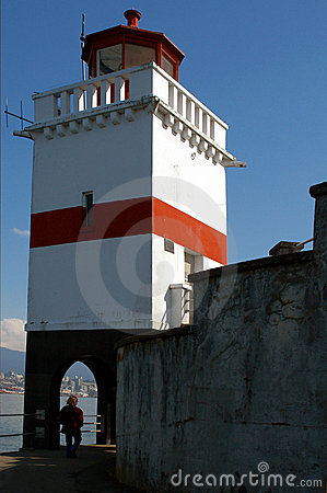 Stanley Park Lighthouse - Vancouver BC