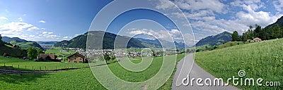 Stans Valley landscape