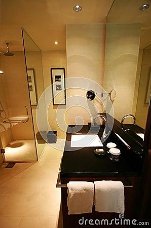 Stanza da bagno dell albergo di lusso foto stock – 96 stanza da ...