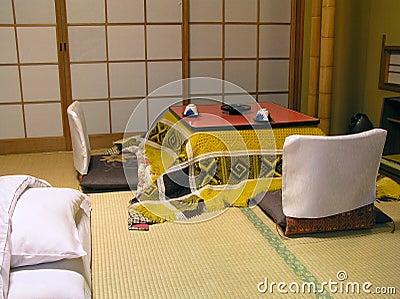 Stanza giapponese tradizionale fotografie stock immagine for Stanza giapponese