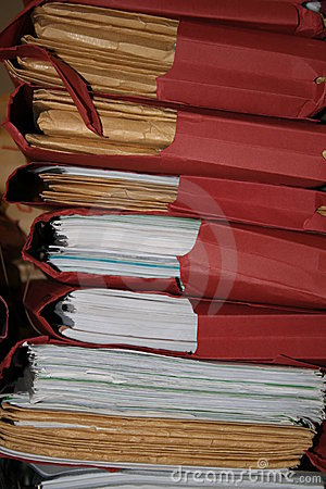 Stapel Dossiers
