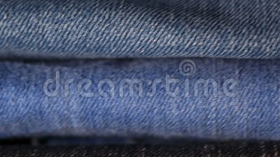 Stapel jeans stock footage