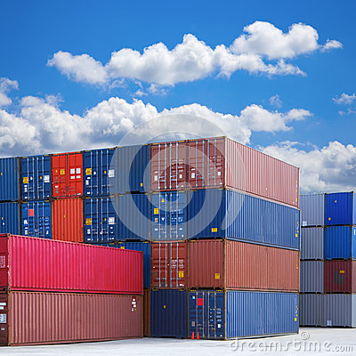 Stapel Verschepende Containers