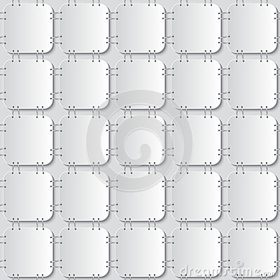 Free Stapled Papers Seamless Pattern Royalty Free Stock Photos - 47490508