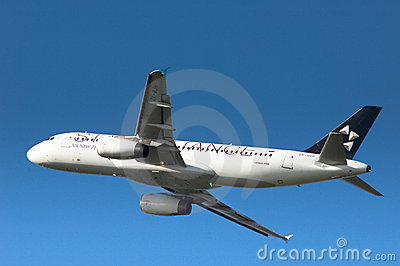 Star Alliance A320 Editorial Photo