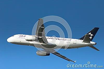Star Alliance A320 Editorial Photo
