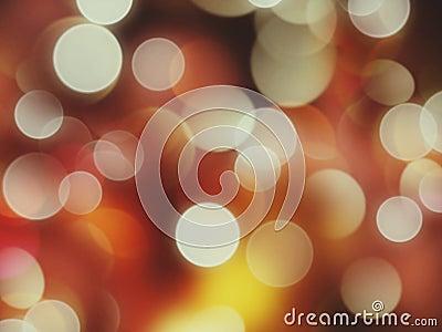 Star bright star light, how many bokeh effects do I see tonight Stock Photo
