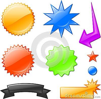 Free Star Burst Designs Stock Photos - 12098243