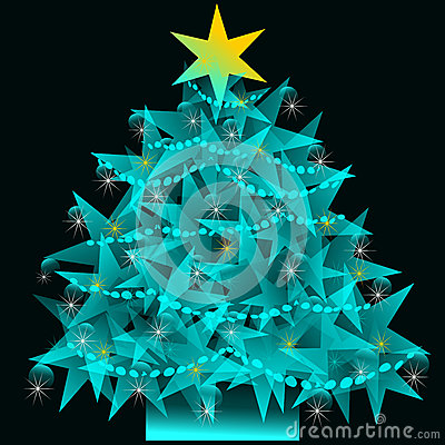 Star Christmas tree