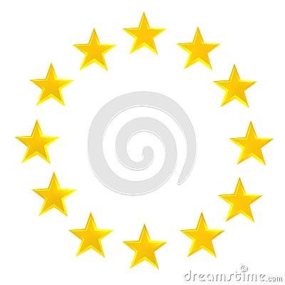 Star Circle Royalty Free Stock Photos Image 12969968