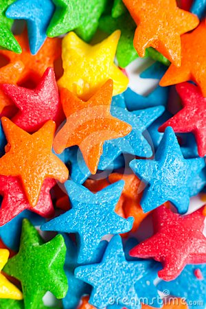 Free Star Colorful Candies Royalty Free Stock Photos - 24429218