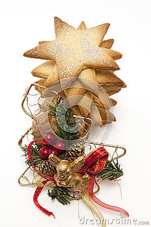Star cookies and Christmas Tree