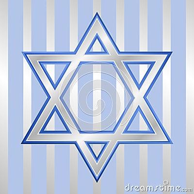 Star of David for Hanukkah