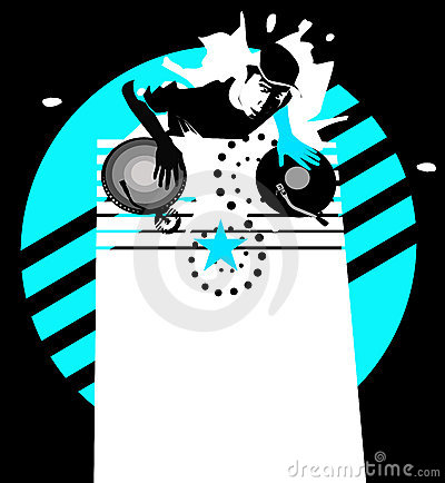 Star dj - cyan